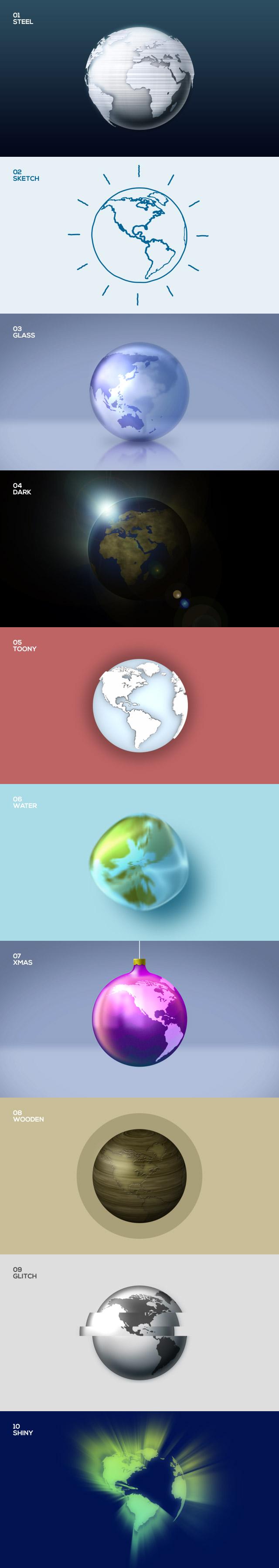 all-globes